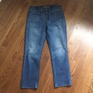 J. Crew Point Sur vintage cropped jean